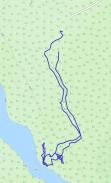 GaiaGPS hiking data @ Potato River Falls Upper