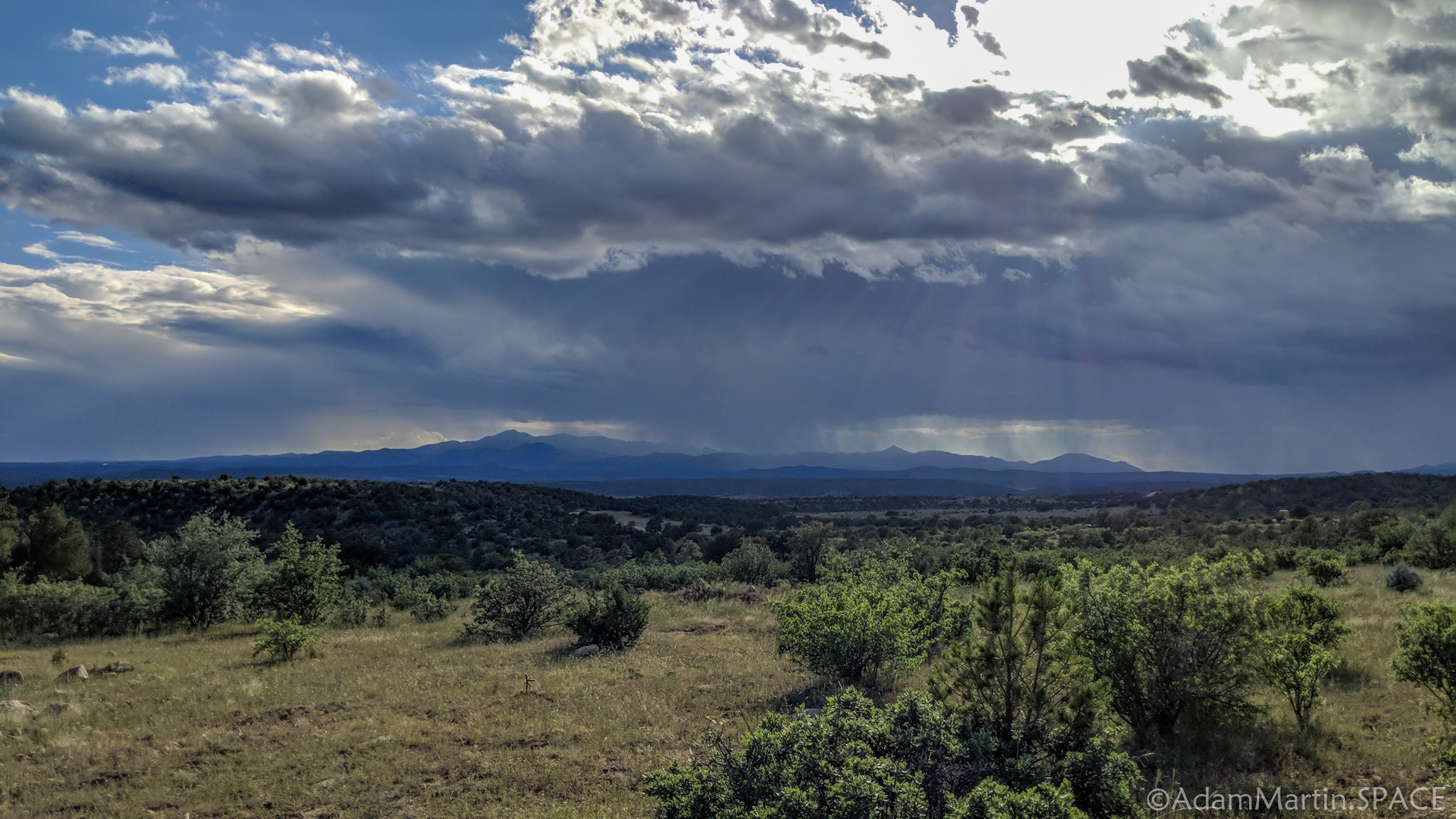 New Mexico Elk Hunt – Storm views across the plains