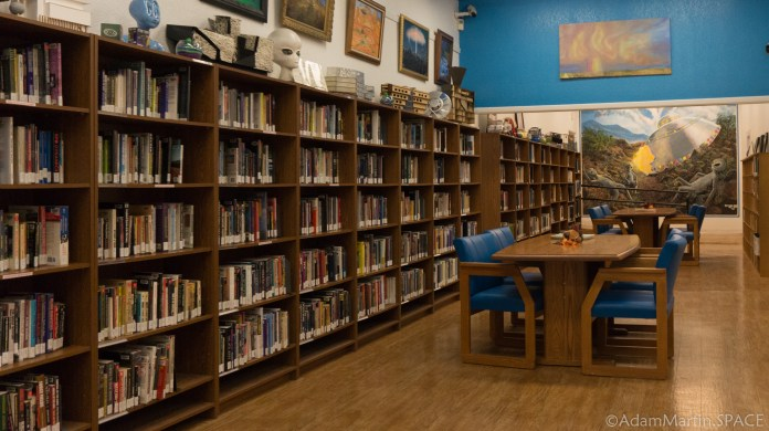 Roswell UFO Museum - Library