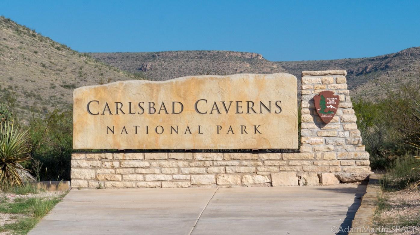 Carlsbad Caverns National Park - Park Entrance
