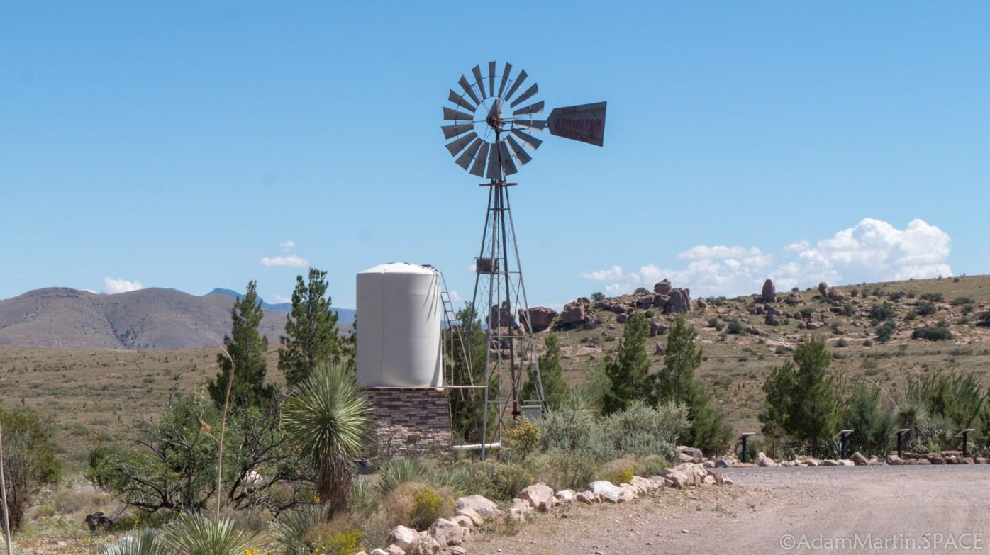 City of Rocks State Park – Windmill