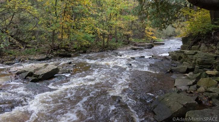 Devils River Falls - Small Rapids Downstream