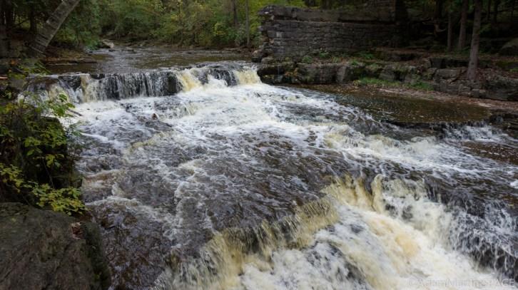 Devils River Falls - Close-Up Falls View