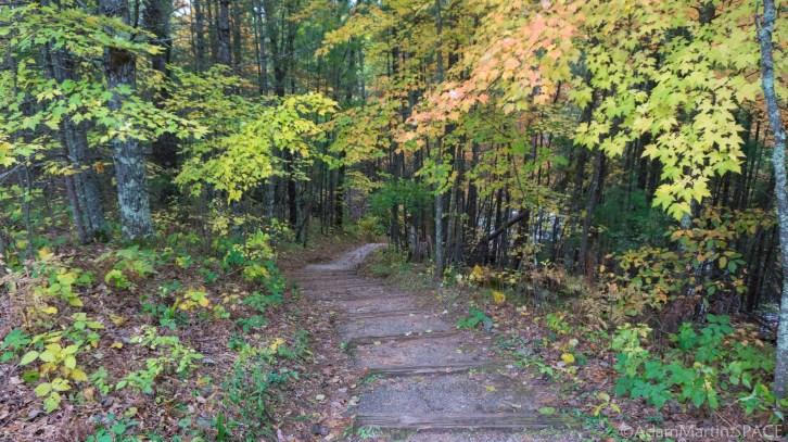 Veterans Memorial Park - Stairs to Falls