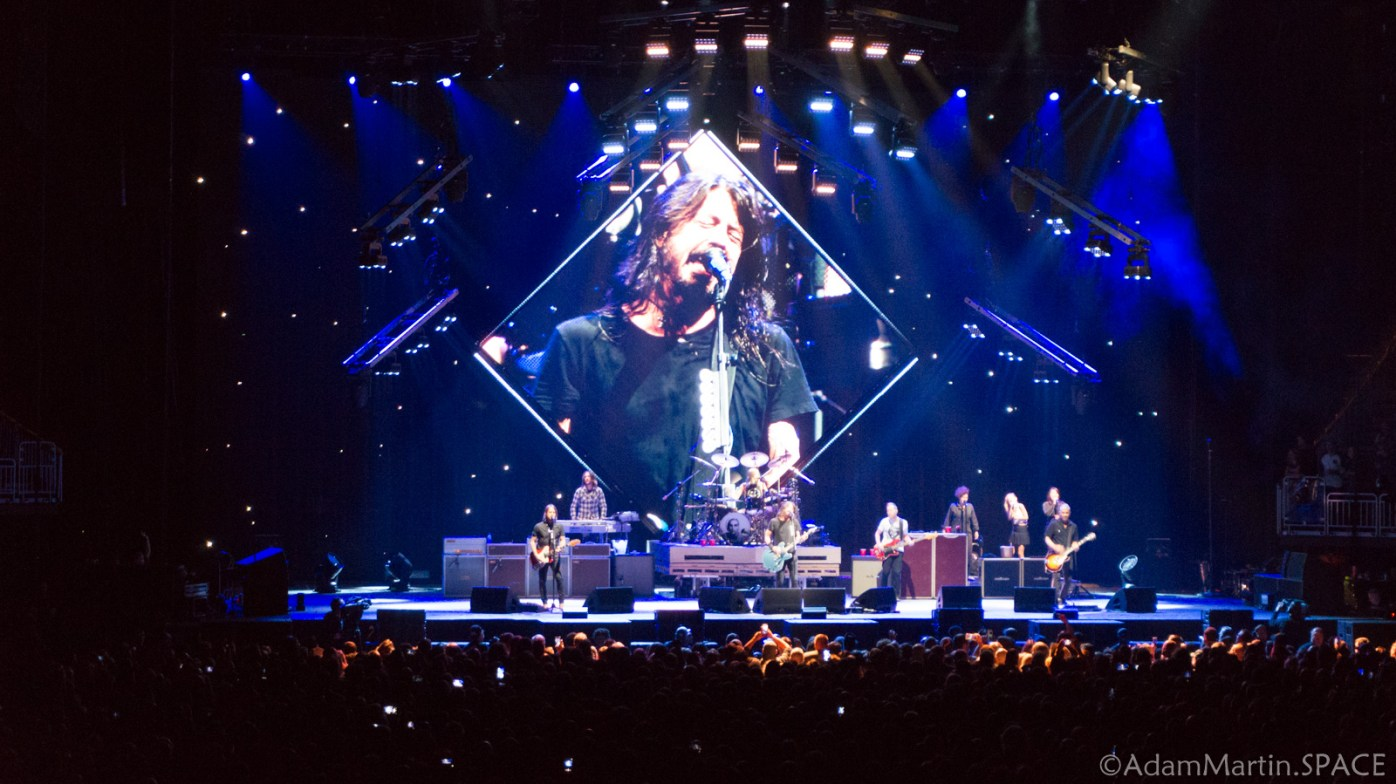 Foo Fighters - Concrete and Gold Tour