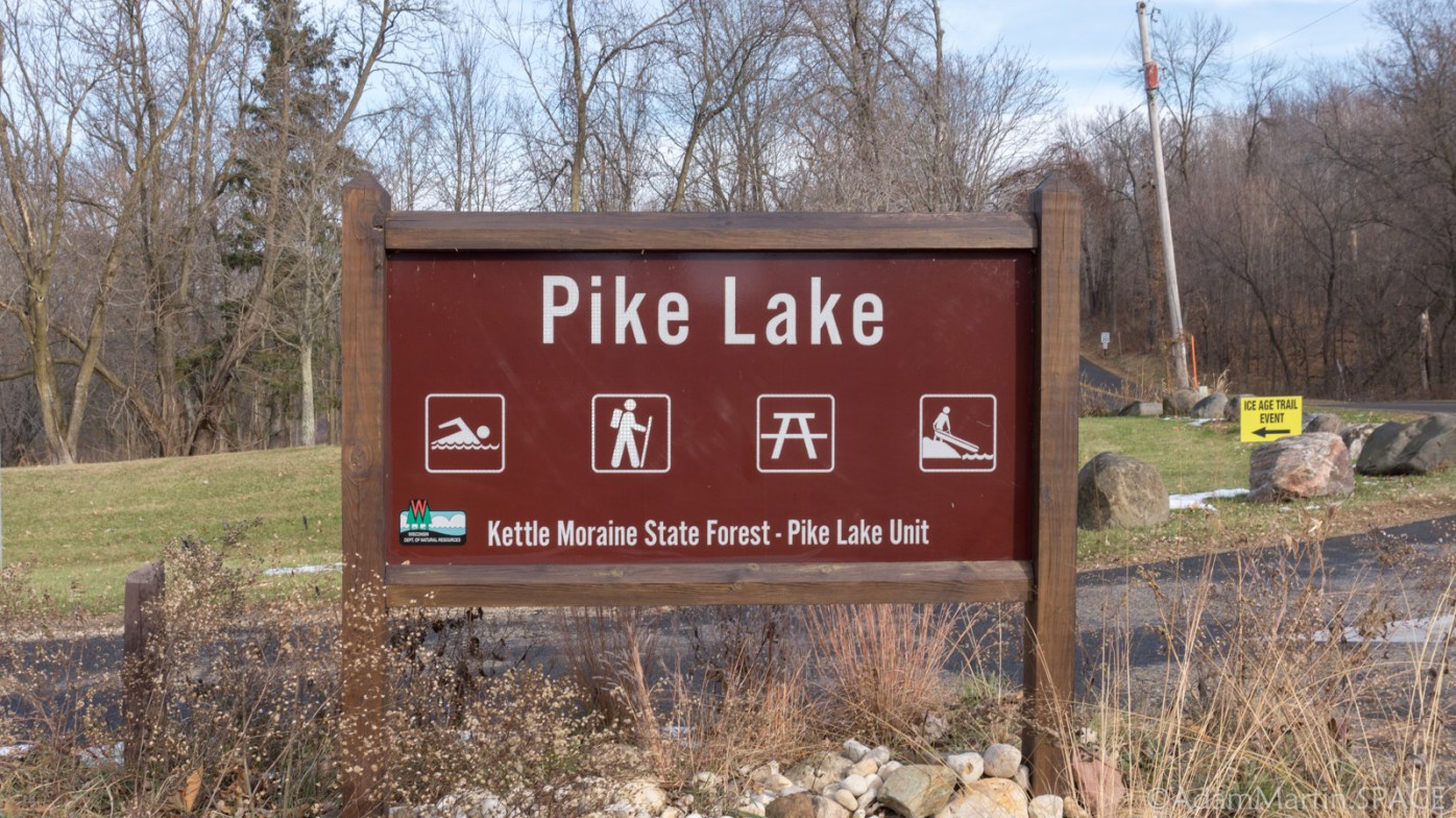 Kettle Moraine Pike Lake Unit - Pike Lake Unit Sign