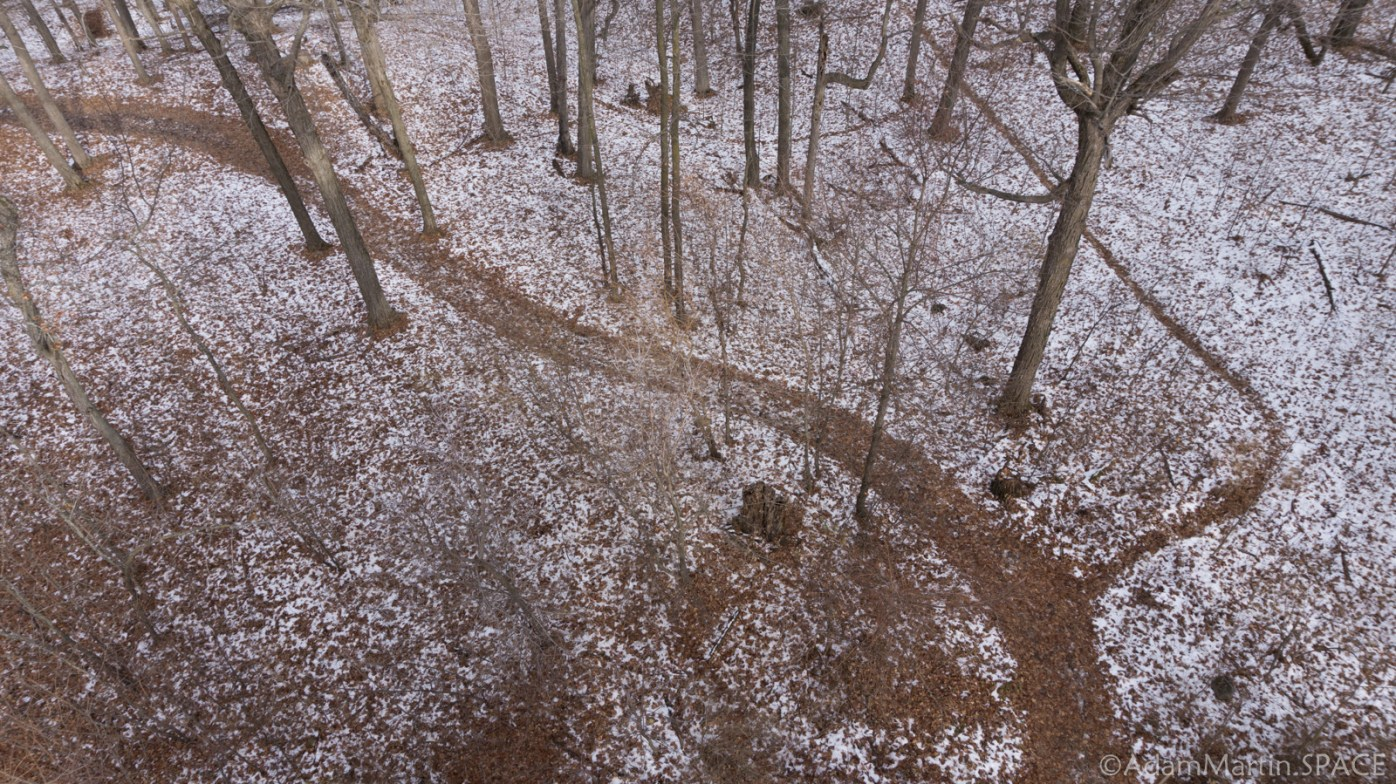 Kettle Moraine Pike Lake Unit - Looking Down From Powder Hill Observation Tower