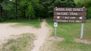 Kohler-Andrae State Park - Woodland Dunes Nature Trail trailhead
