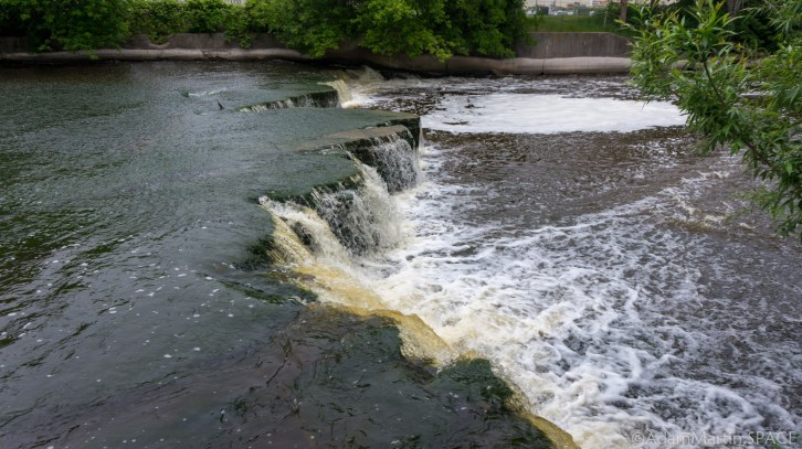 Sheboygan Falls - Lower section side view