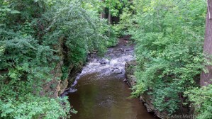 Menomonee Falls rapids on Menomonee River