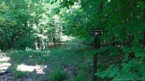 Copper Falls State Park - CCC trail sign