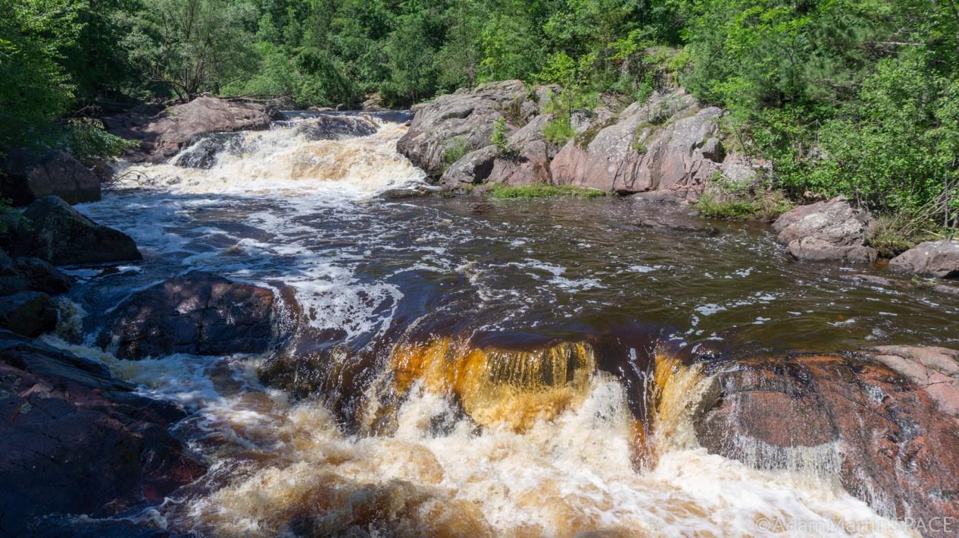 Copper Falls State Park - Red Granite Falls