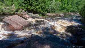 Copper Falls State Park - Red Granite Falls