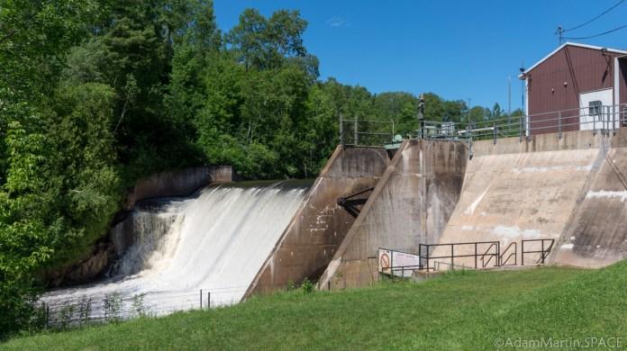 Saxon Falls - Hydro power dam