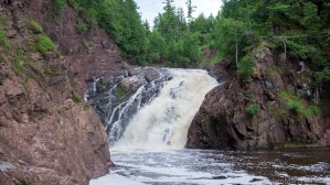 Superior Falls - Front view of the falls