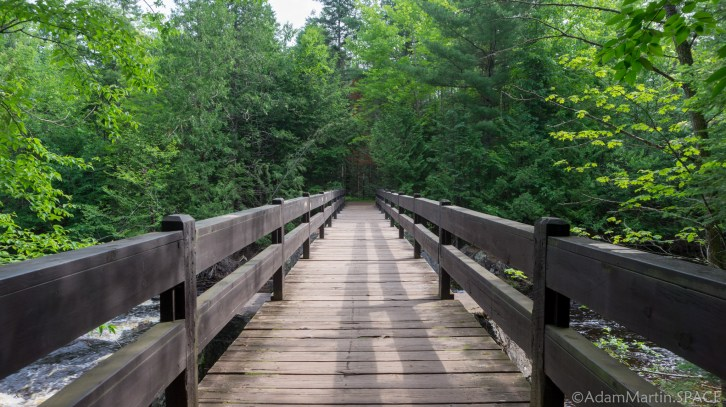 Copper Falls State Park - Bridge over Tyler Forks River