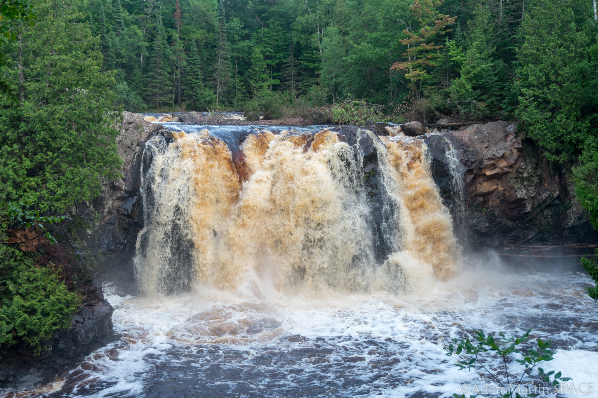 Pattison State Park - Little Manitou Falls