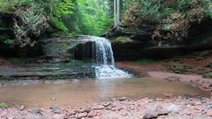 Lost Creek Falls - Side angle