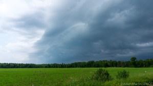 Mays Ledges - Thunderstorms headed my way