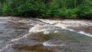 Mays Ledges - Falls on Bois Brule River
