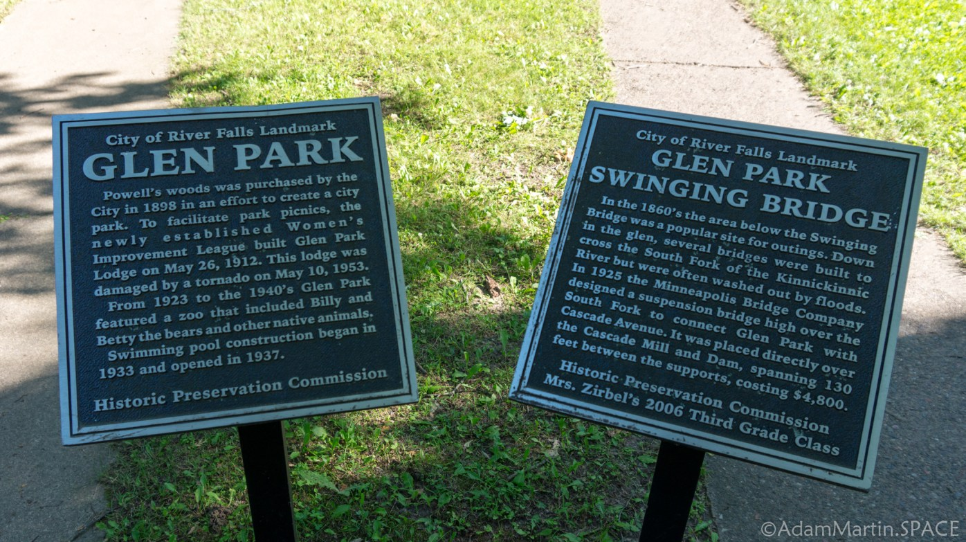Glen Park historical sign