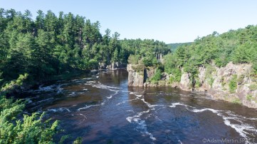 Interstate State Park - Ice Age Trail western terminus overlooking St. Croix River