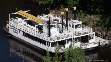 Interstate State Park - Steamboats on Minnesota side of St. Croix River