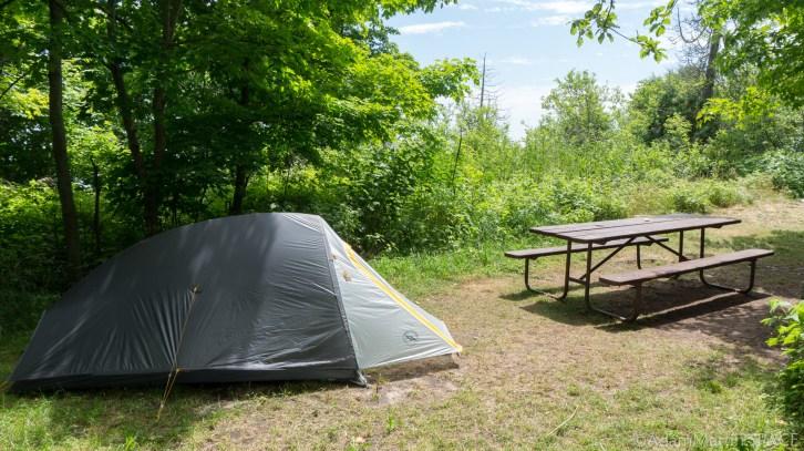 Rock Island State Park - Campsite #11