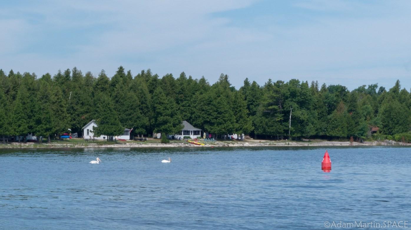 Rock Island State Park - Karfi ferry back to Jackson Harbot