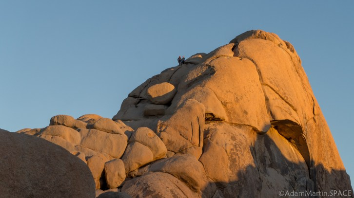 Joshua Tree - Hidden Valley Rock Climbers