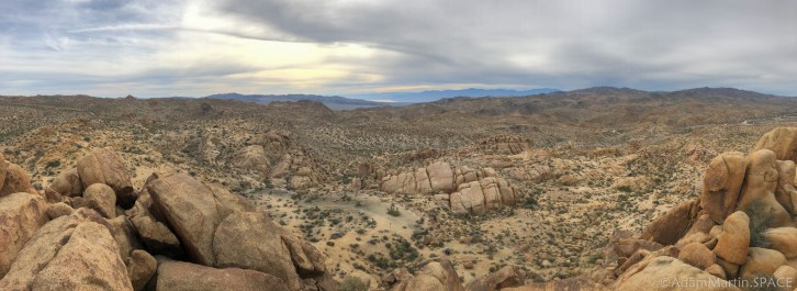 Joshua Tree - iPhone Panorama Atop Mastodon Peak
