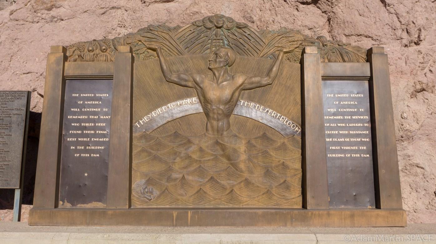 Hoover Dam - Art by Oskar J.W. Hansen