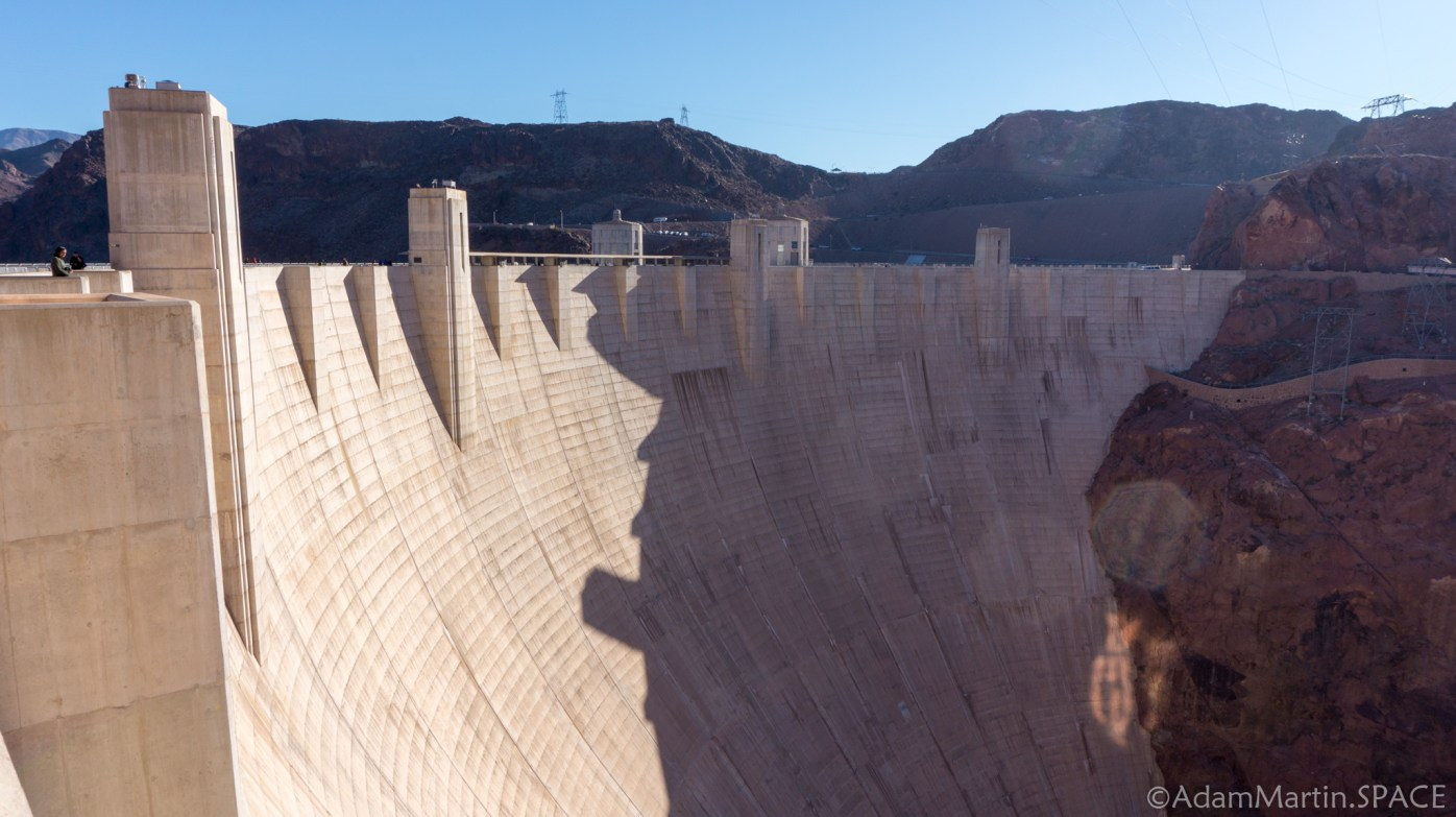 Hoover Dam - Front/Side View