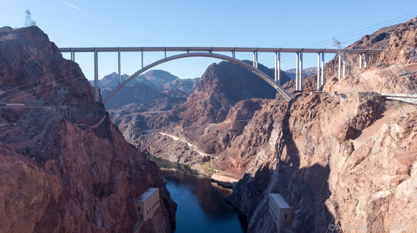 Hoover Dam - Mike O'Callaghan–Pat Tillman Memorial Bridge