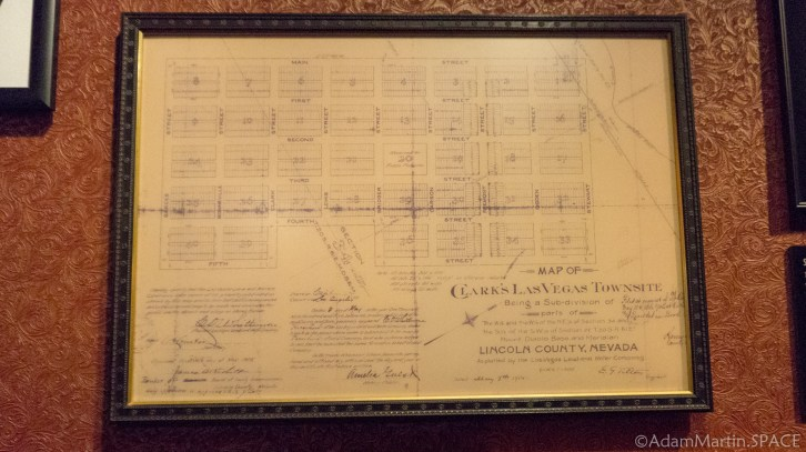The Mob Museum - Original Las Vegas City Plans