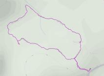 GaiaGPS hiking data @ Joshua Tree - Hidden Valley