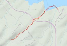 GaiaGPS hiking data @ Owl Canyon