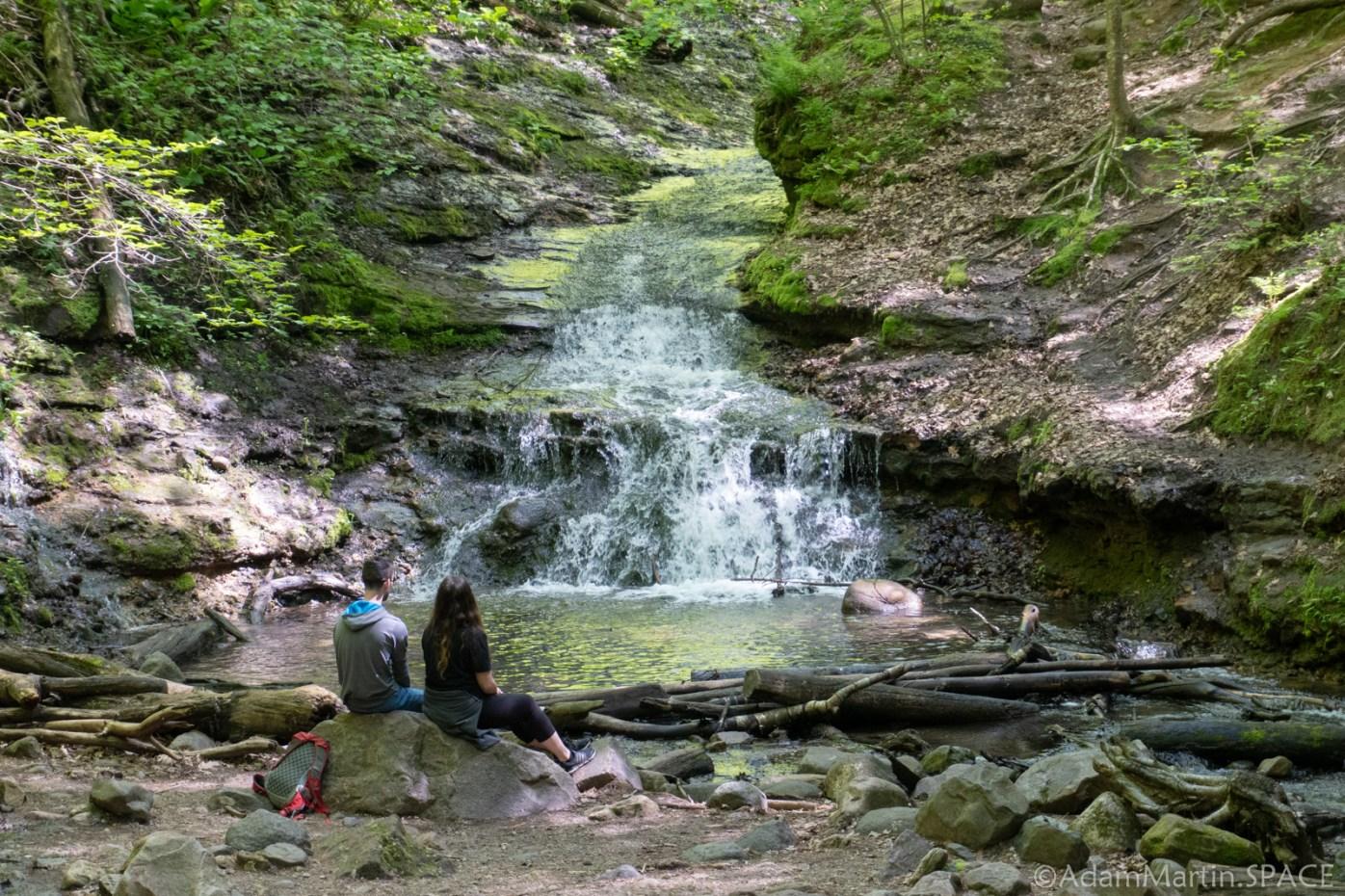 Parfreys Glen State Natural Area - Parfreys Glen Falls