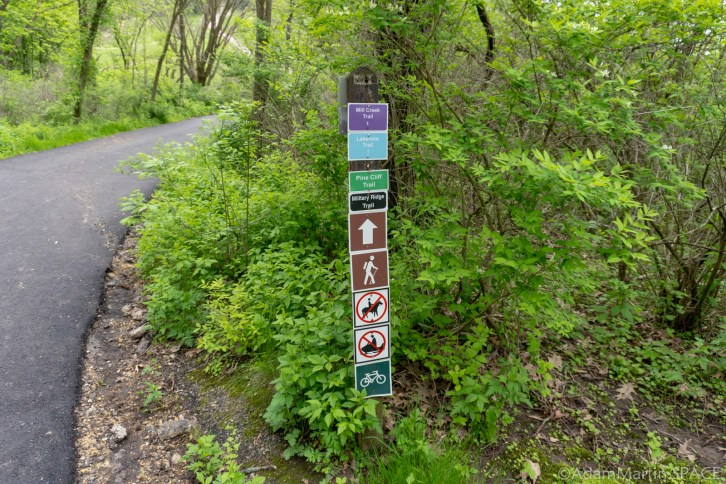 Cox Hollow Lake - Hiking Trails
