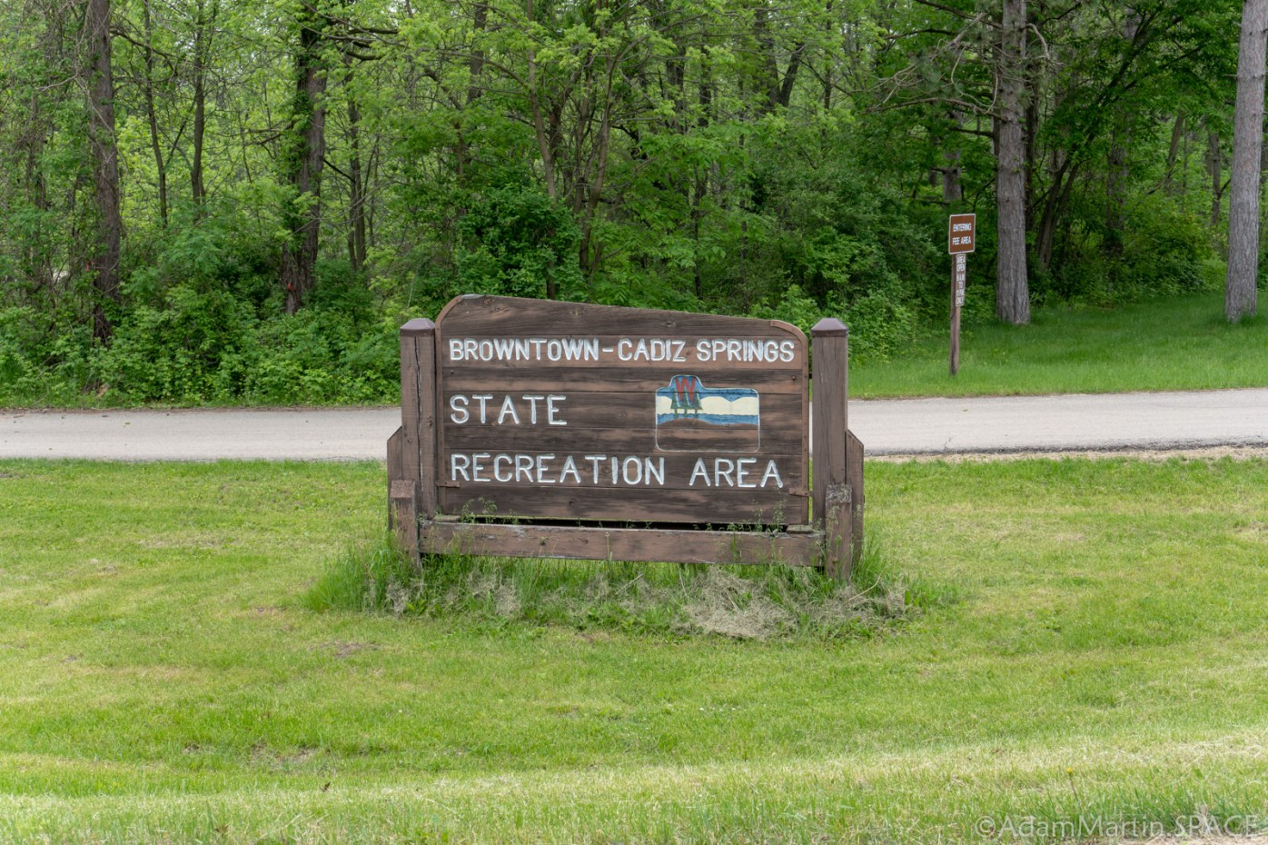 Cadiz Springs State Recreation Area - Entrance Sign