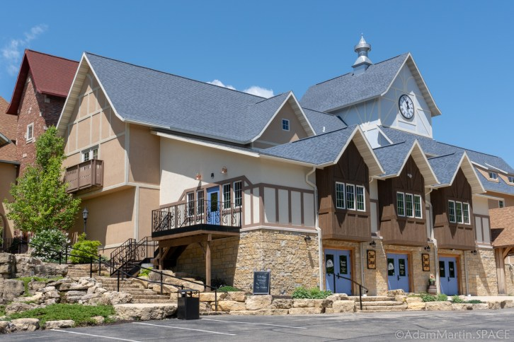 New Glarus Brewery - Swiss-style Building