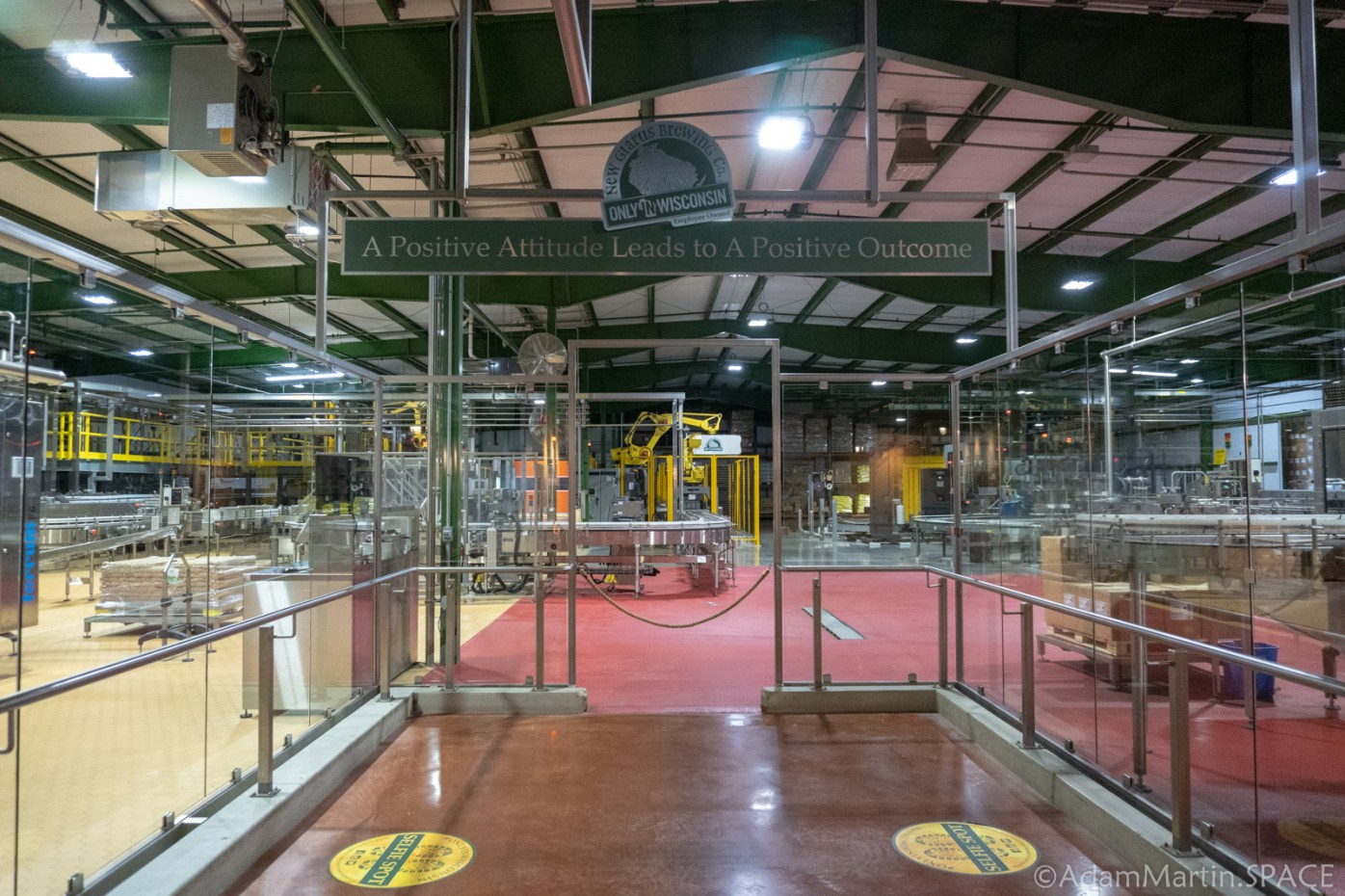 New Glarus Brewery - Final Packaging Lines