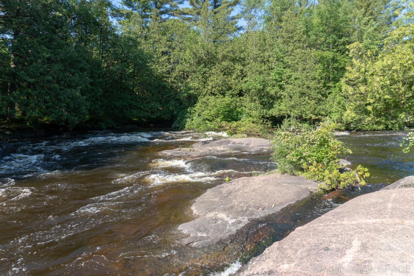 Gilmer Falls - Smaller rapids/falls above main drop