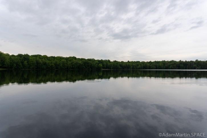 Lost Lake Recreation Area - Lake reflections