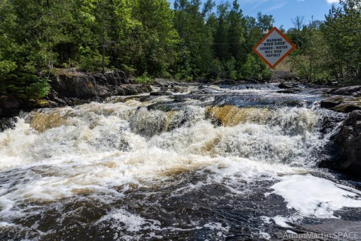 Breakwater Falls - Main falls