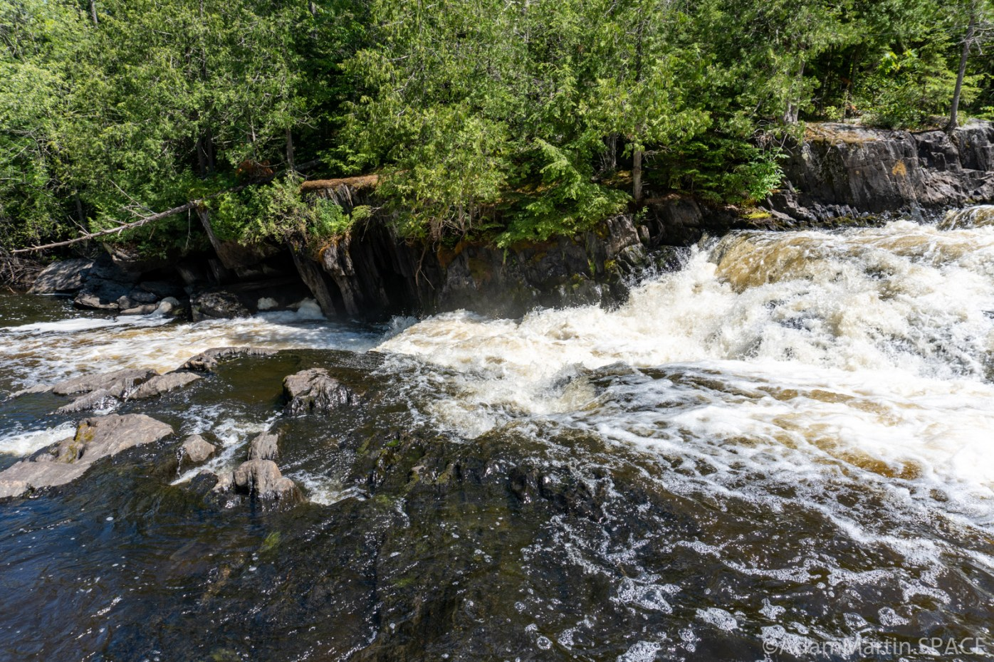 Breakwater Falls - Multiple drops