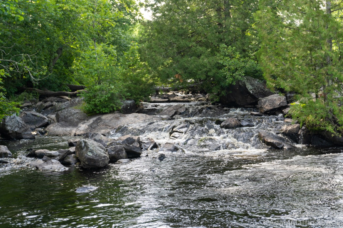 Lake of the Falls - Main falls views