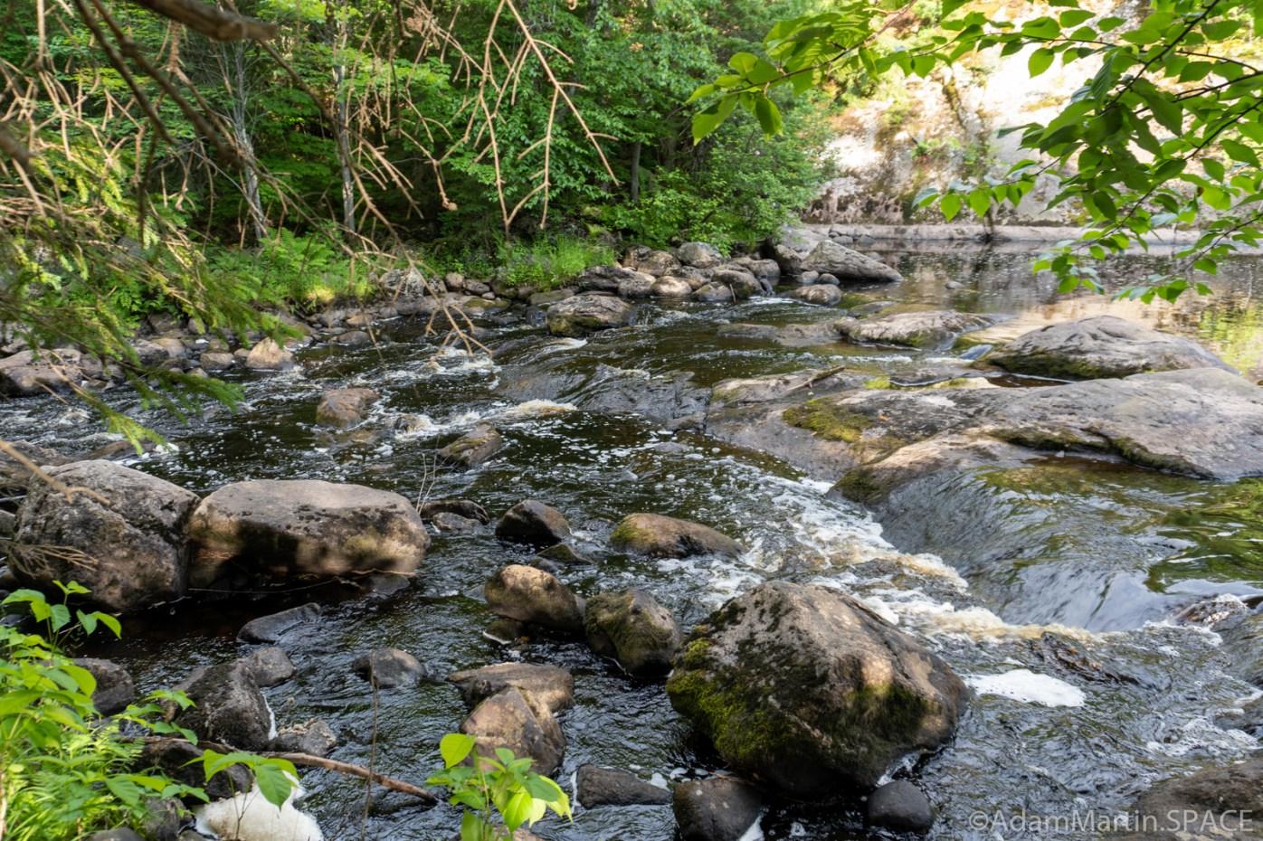 Spring Camp Falls - Small drop downstream of main falls