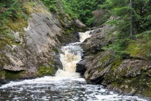 Spring Camp Falls - Main falls view