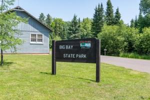 Big Bay State Park - Entrance Sign